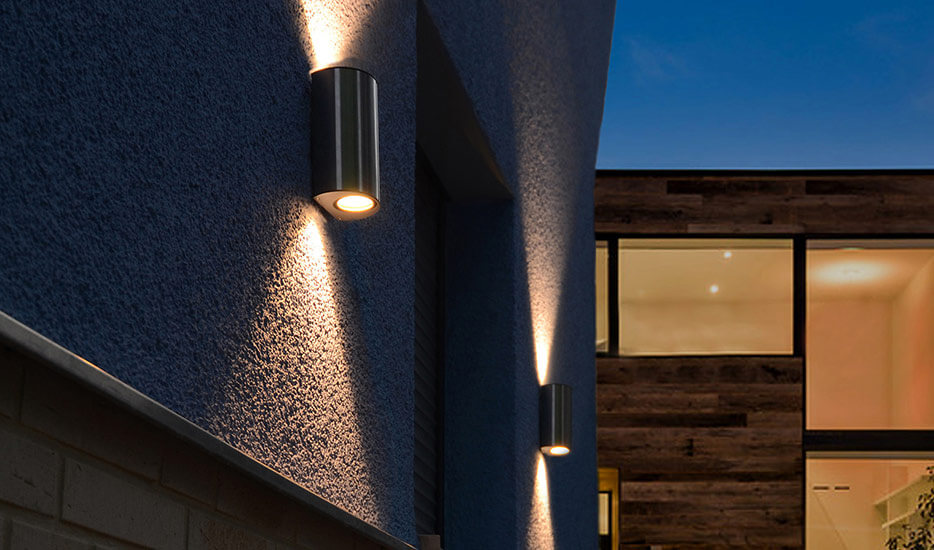 Stainless steel LED outdoor wall lamp - Ilumi