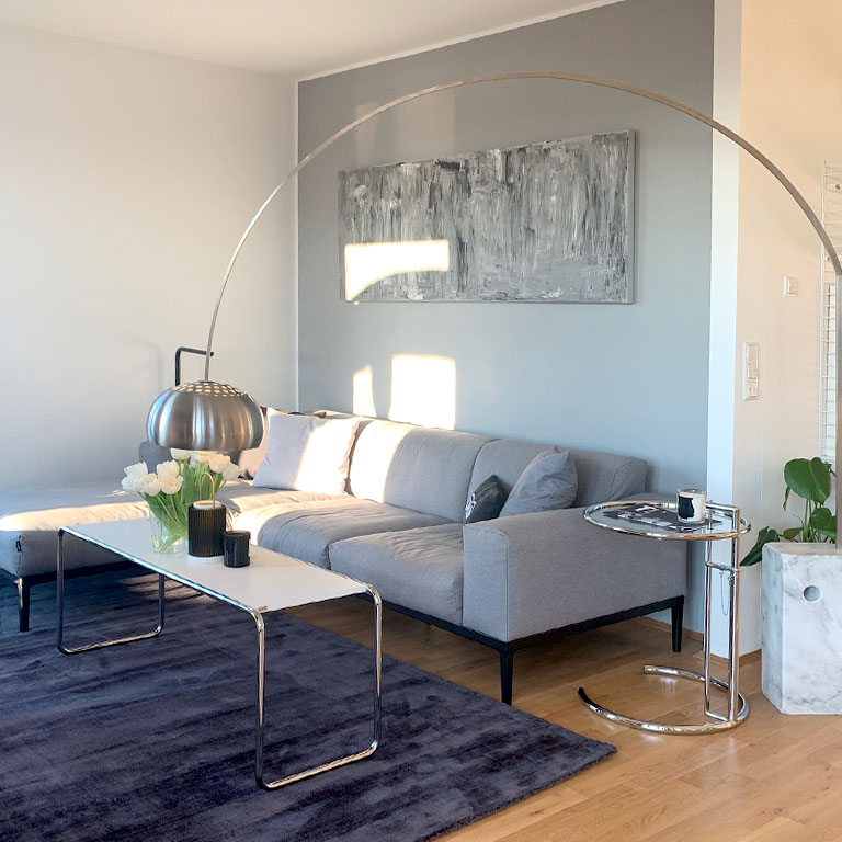 Designer arc lamp Arco by FLOS