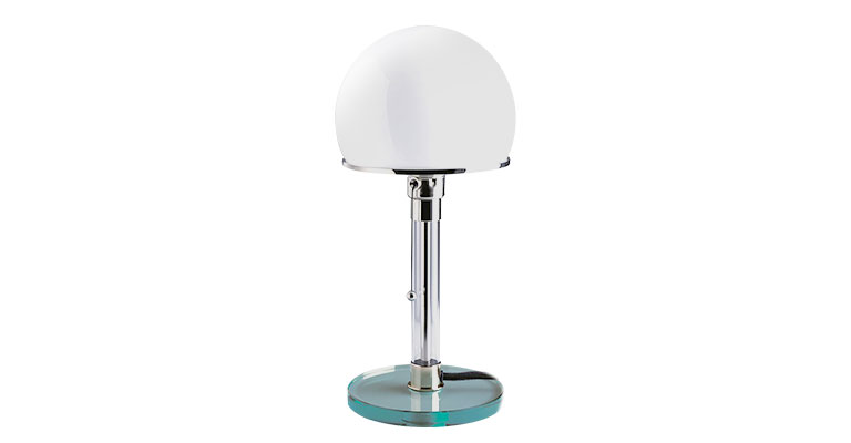 Wagenfeld table lamp by TECNOLUMEN
