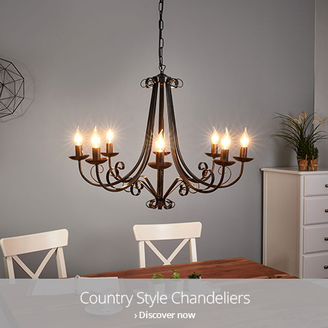 Discover country chandeliers