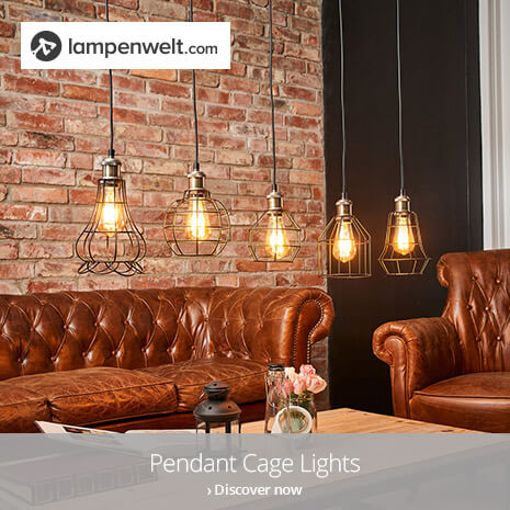 Discover industrial pendant cage lights