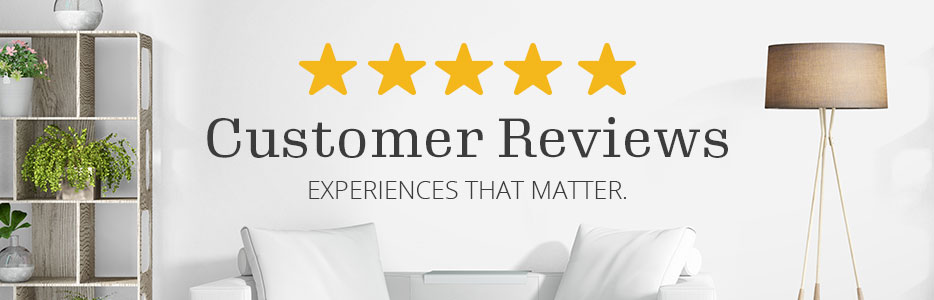 Reviews - From customers. For customers.