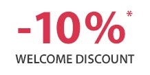 10% Welcome Discount