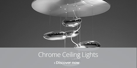 chrome ceiling lights