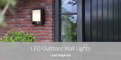 led outdoor wall lighting