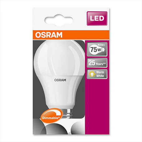 E27 10,5W 827 LED bulb Superstar, dimmable