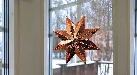 Christmas lighting star
