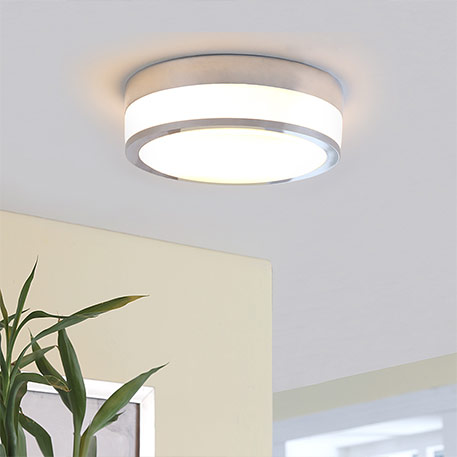 Flavi ‑ ceiling light for the bathroom, chrome