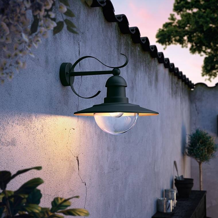 Outside led wall light