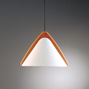 Beautiful pendant light PILA by Domus