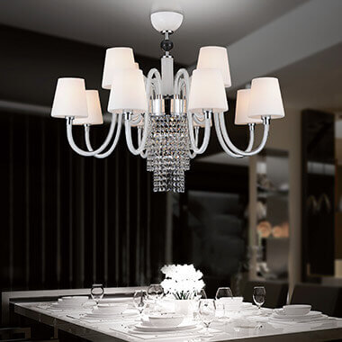Chandeliers For The Dining Room Bedroom More Lights Co Uk