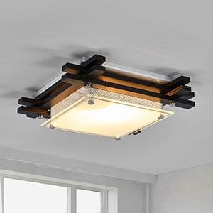 rustic wooden ceiling lights