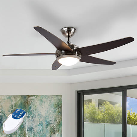 Ceiling fans with lighting
