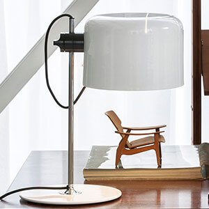 designer table lamp coupe