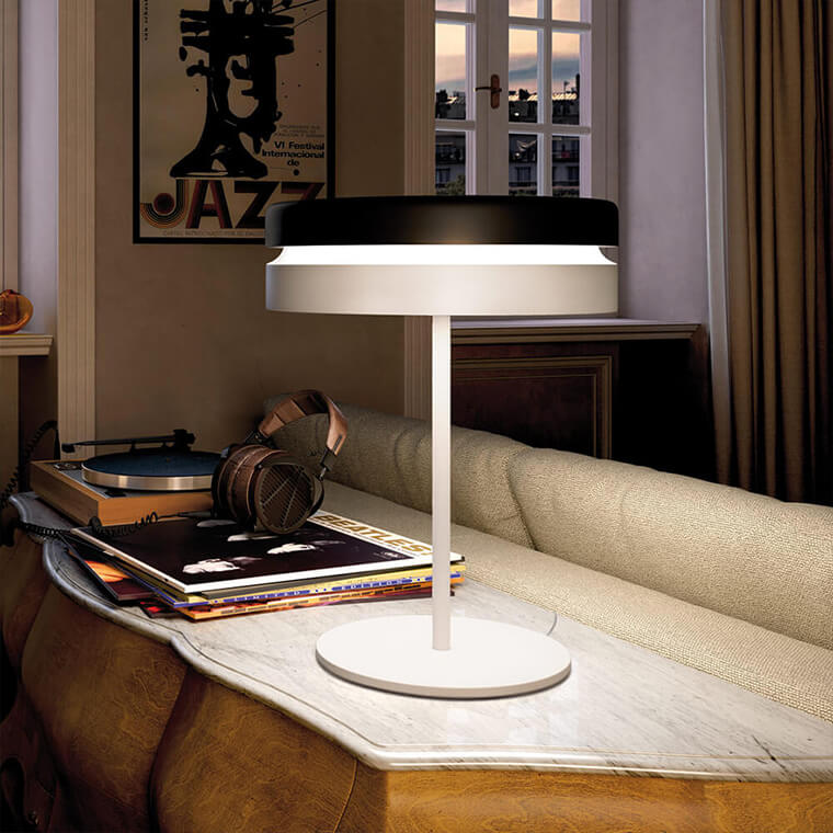 Designer table lamp by Piet Hein