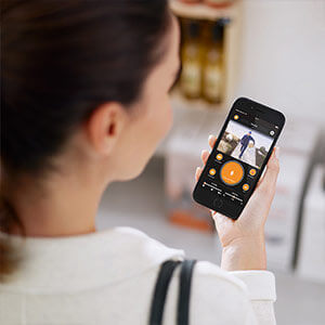 smart security light with integrated camera