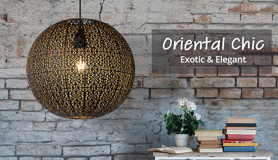 Oriental Chic - Moroccan lamps