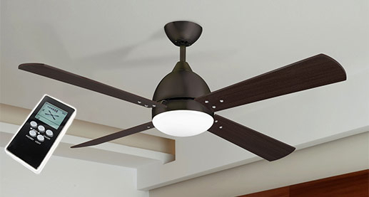 Ceiling fans with additional functions
